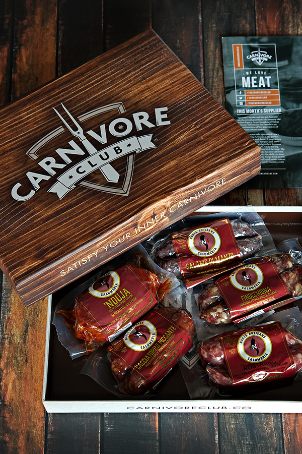 Today's recipe was sponsored by Carnivore Club who has provided me a box of incredibly tasty meats from 'Nduja Artisans in Chicago, IL. No other compensation was given for this post, but it does contain affiliate links.