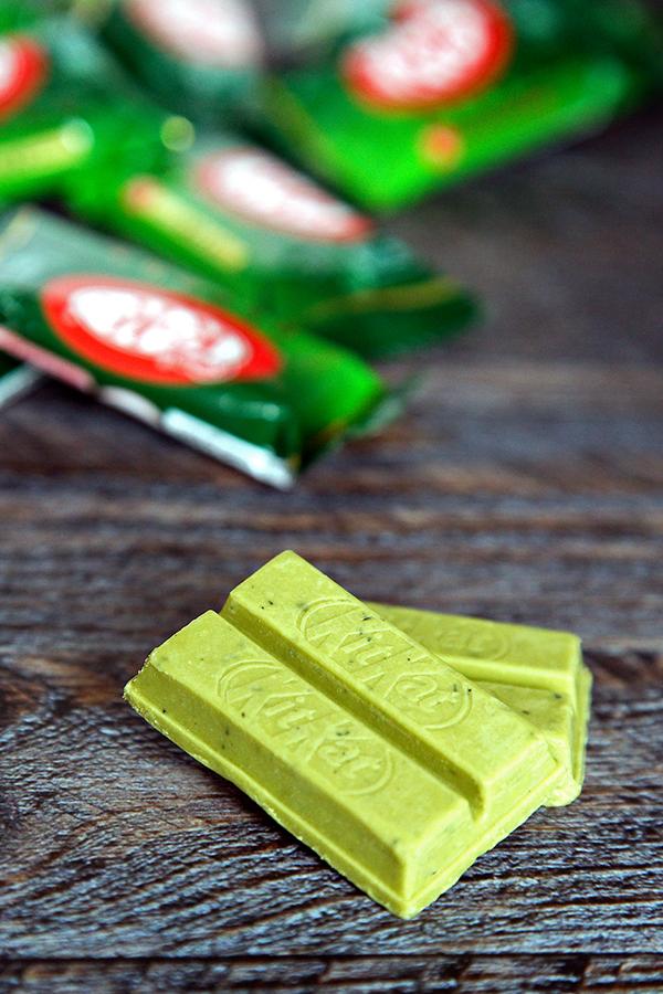 Matcha Green Tea Kit Kat Bars | Not Starving Yet