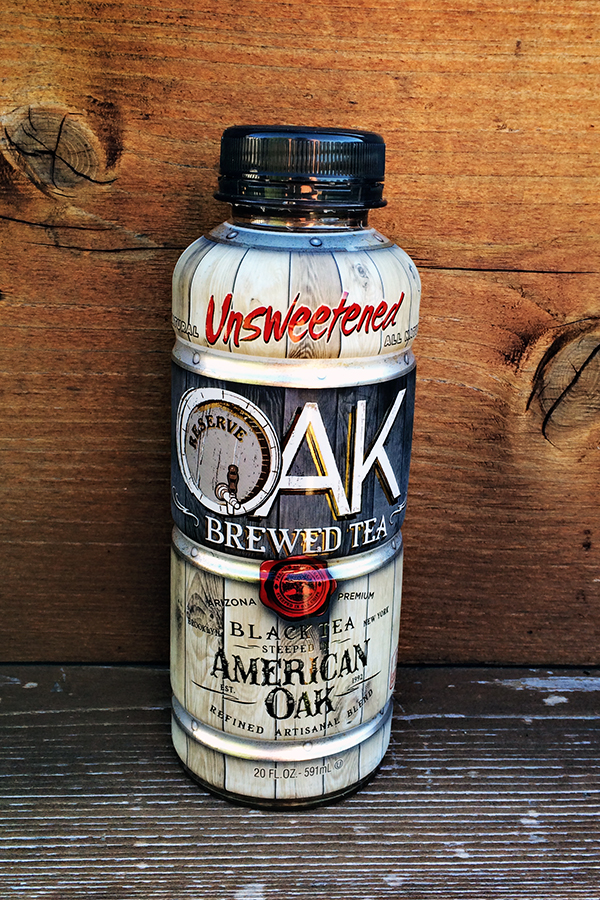 Tea Review: Oak Brewed Black Tea - AriZona