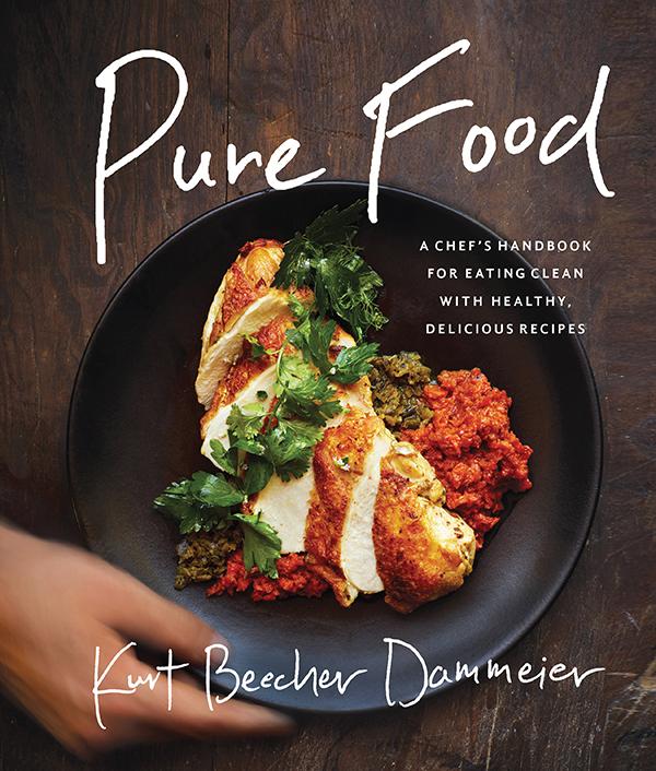 Book Review: Pure Food by Kurt Beecher Dammeier - Tzatziki Sauce Recipe + GIVEAWAY