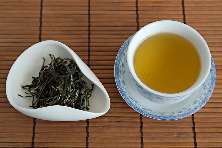 Tea Review: Organic Bai Hao White Downy Green Tea - TeaVivre