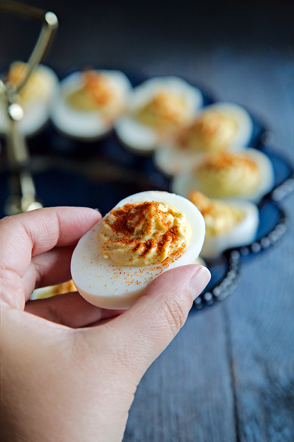 Classic Deviled Eggs | Not Starving Yet
