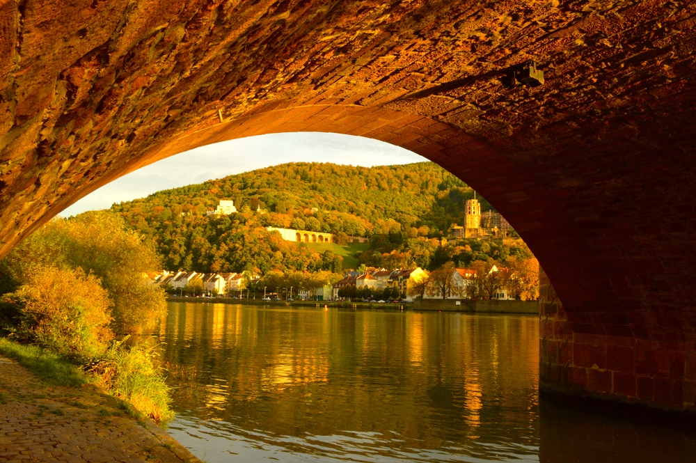 Magic Hour in Heidelberg, Germany