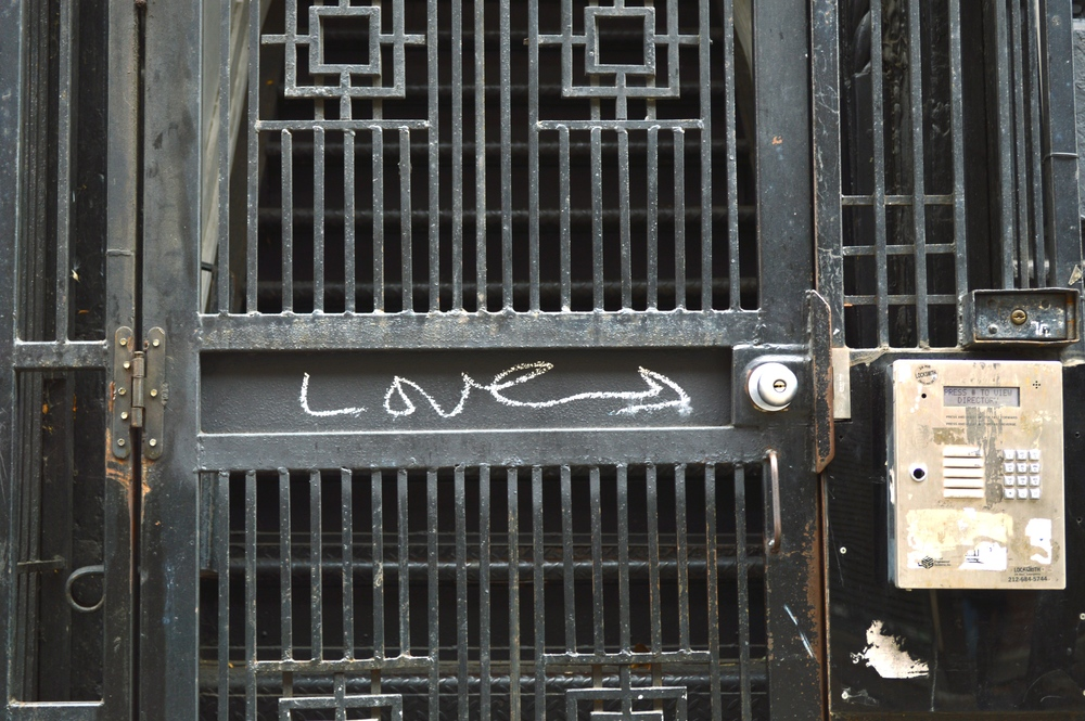 """Love"" in the Lower East Side, NYC"