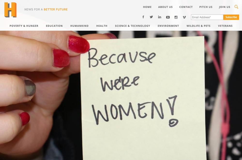 gender based violence social good technology headlines hopeful