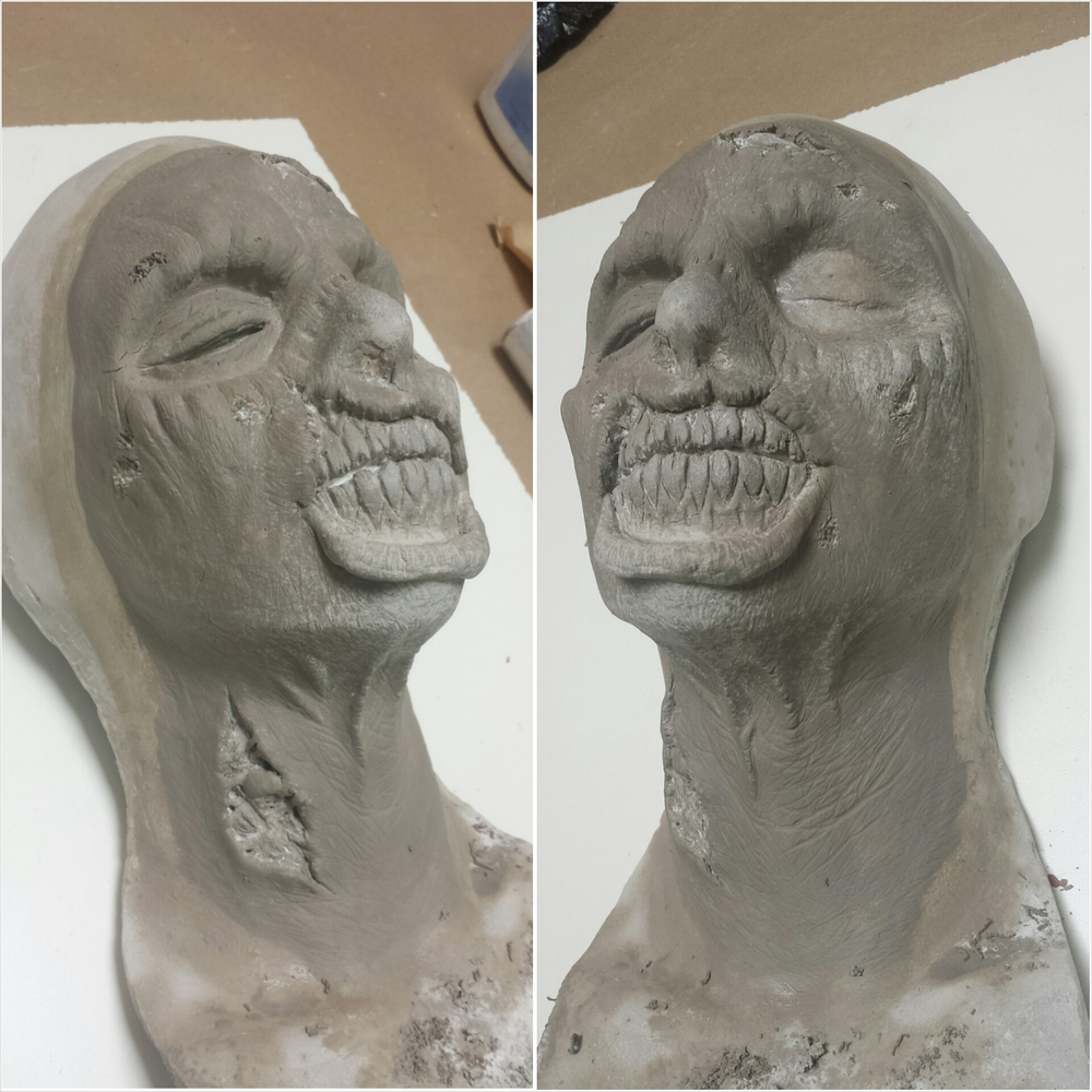 Second day of zombie sculpt