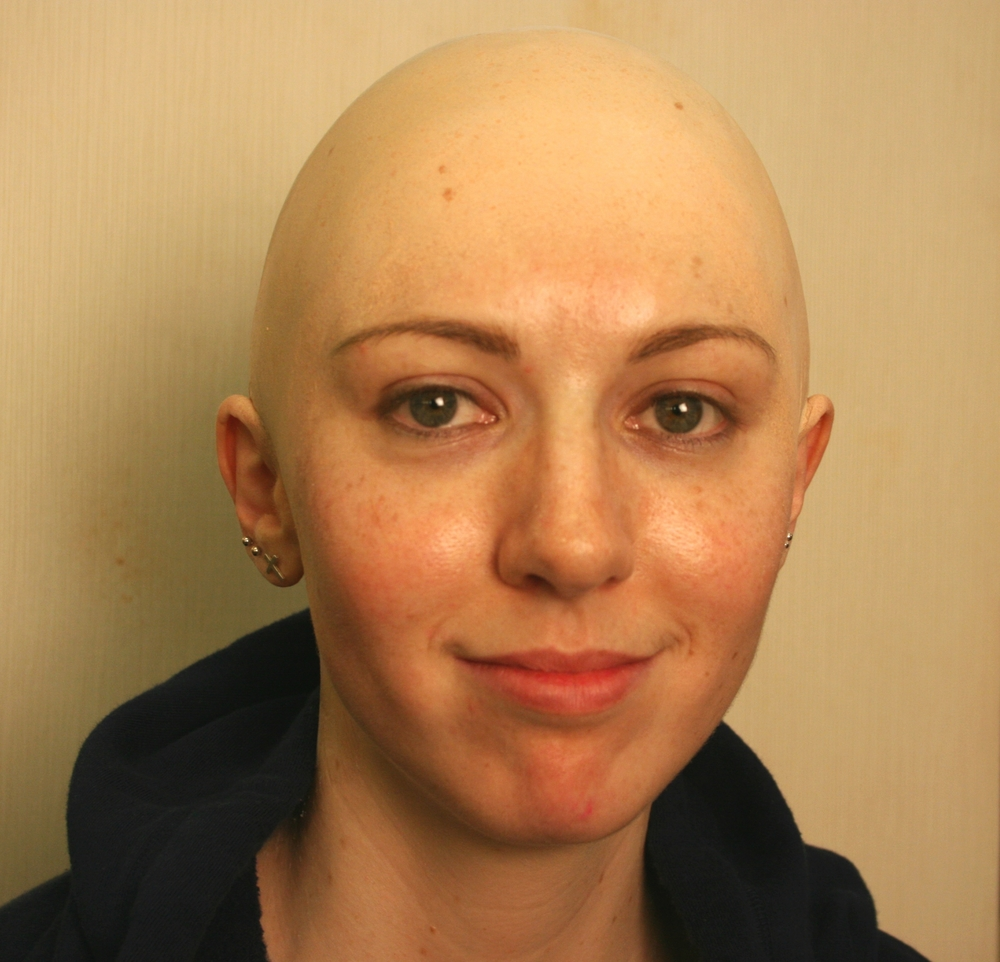 Bald cap application