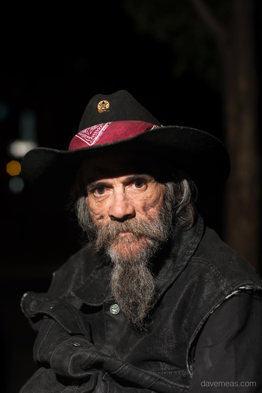 Homeless Man -Denver, Colorado.