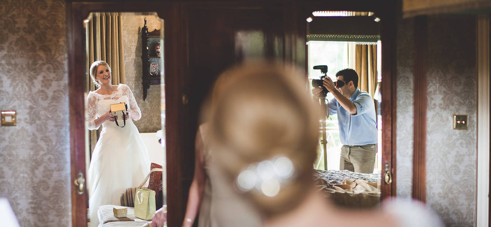 This is me working during a wedding beautifully photographed by my friend photographer Charlie Campey