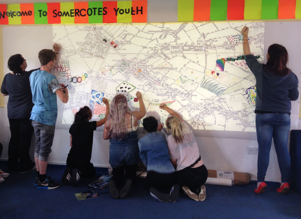 Somercotes Youth & Community Group, Fields of Dreams  in Progress