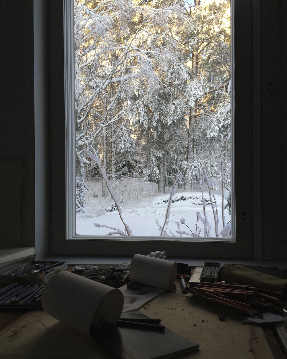 Koli: Studio window