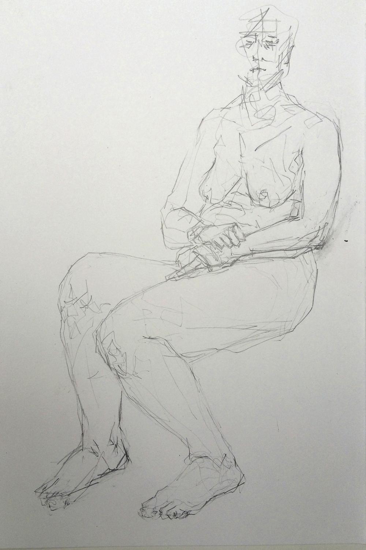 Life Drawing VII