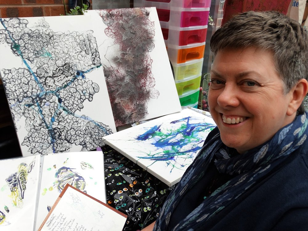 Karen Clegg, from Breaston, has produced a book of art and poetry which she created while she was recovering from aggressive ovarian cancer. Penguin PR: public relations, media and communications