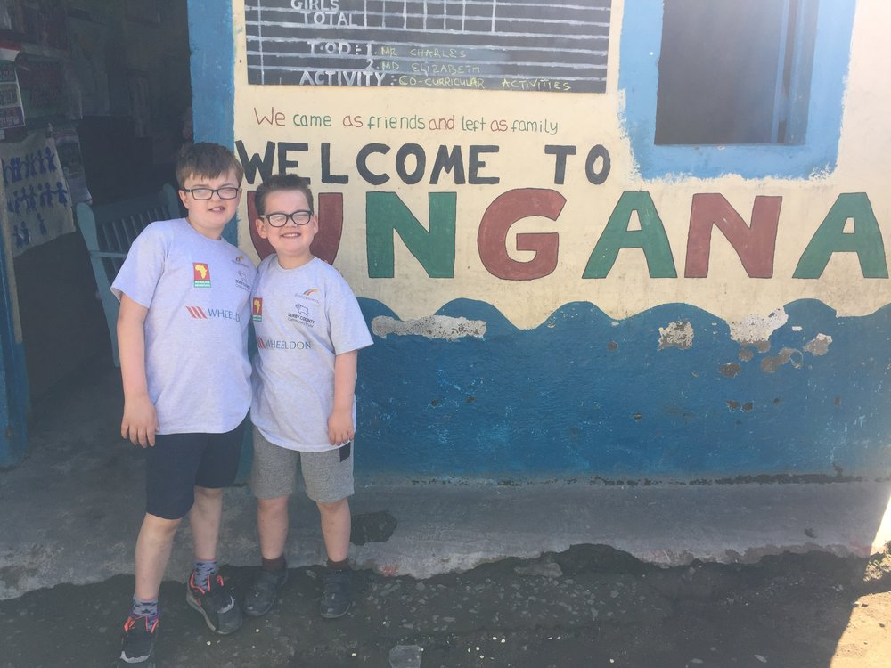 Staff and pupils from St Giles School visited students in Kenya. Penguin PR: public relations, media and communications in the East Midlands