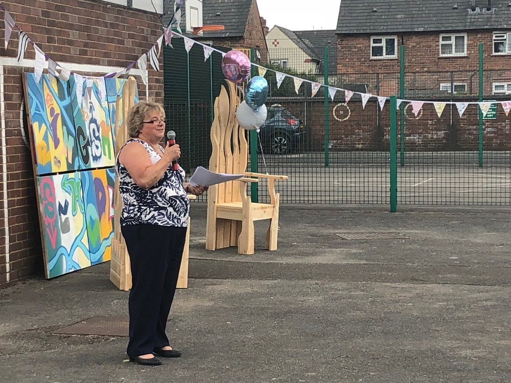 Sue Bradley is retiring as head teacher at Kingsmead School in Derby. Penguin PR: public relations, media and communications