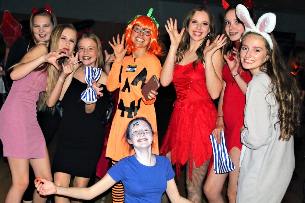 The Halloween disco at Aston Academy raised over £600 for the Snowflake Appeal. Penguin PR: public relations, media and communications