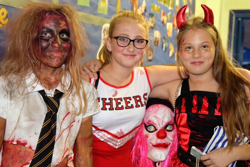 The Halloween disco at Aston Academy raised over £600. Penguin PR: public relations, media and communications