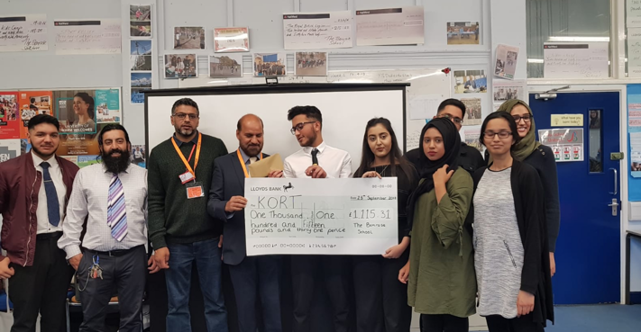 Kind schoolchildren from The Bemrose School have raised money for orphans in Kashmir. Penguin PR: public relations, media and communications