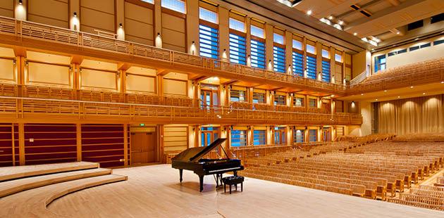 Inside the Green Music Center