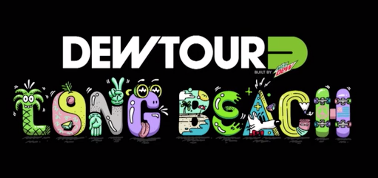 2018' Creative - Over the past 3 years I have been tasked with directing all creative content for the Summer Dew Tour in DTLA & LBC