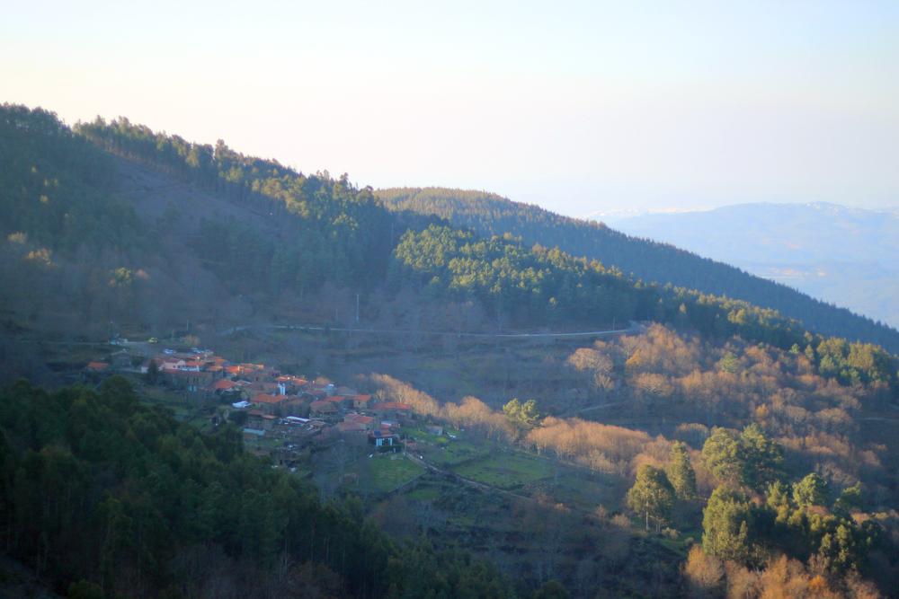 Schist village in Gondramaz, Lousã