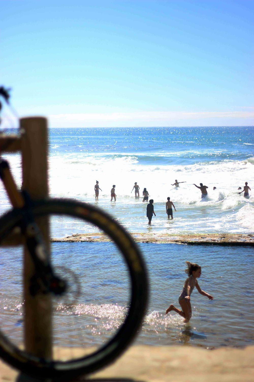 bikes and beaches... paradise?