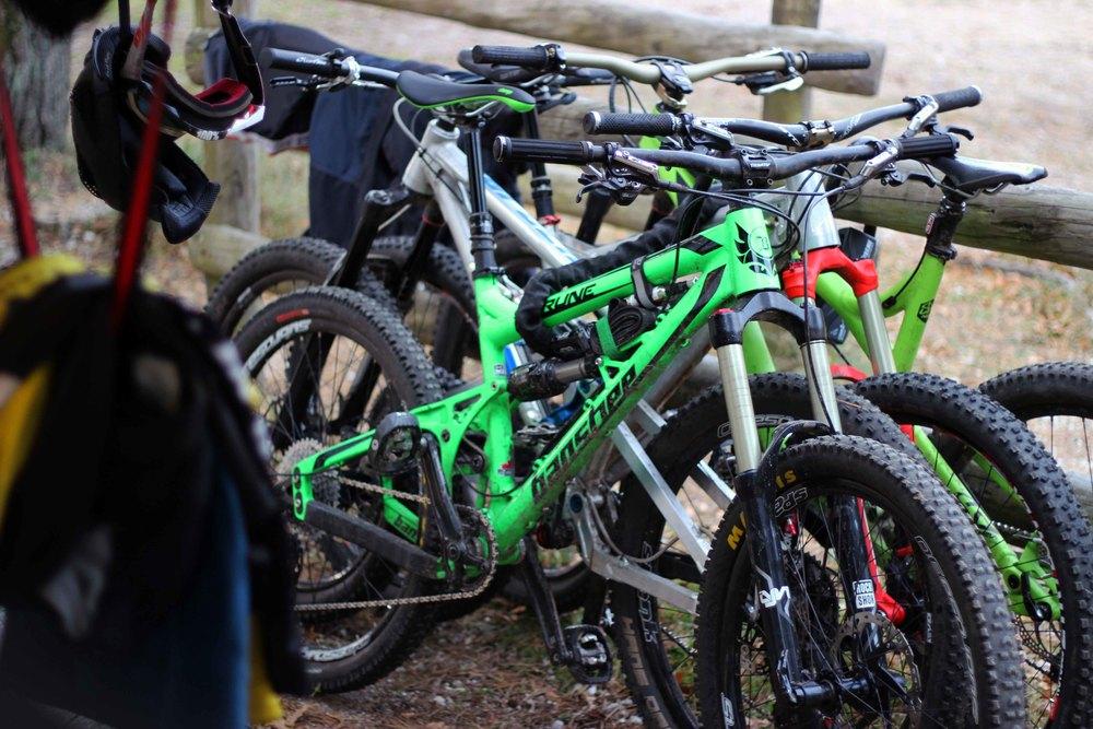 enduro bikes