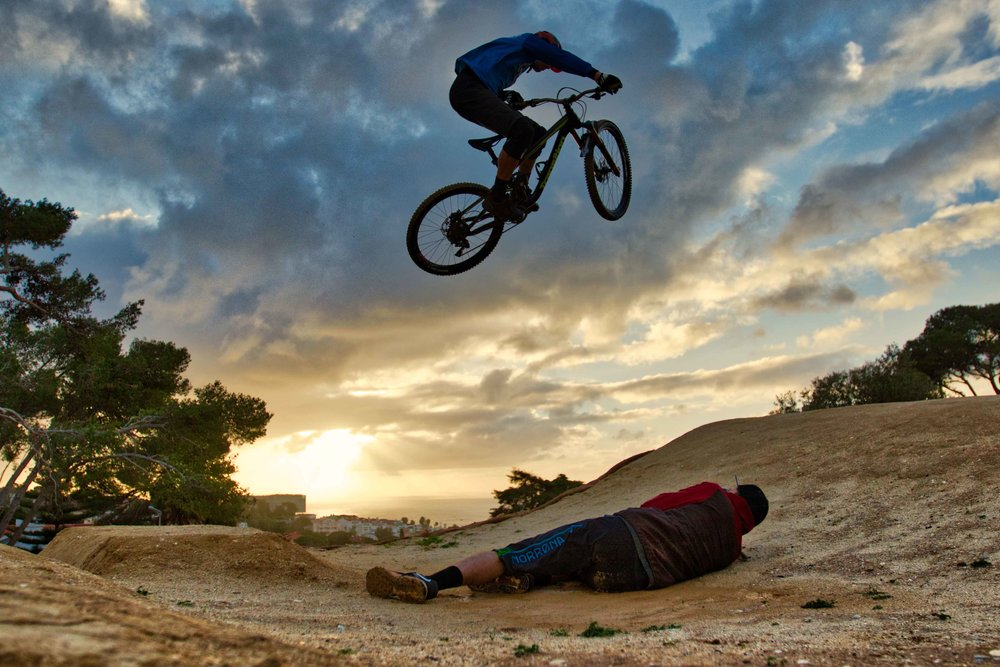 WERIDE dirt jumps