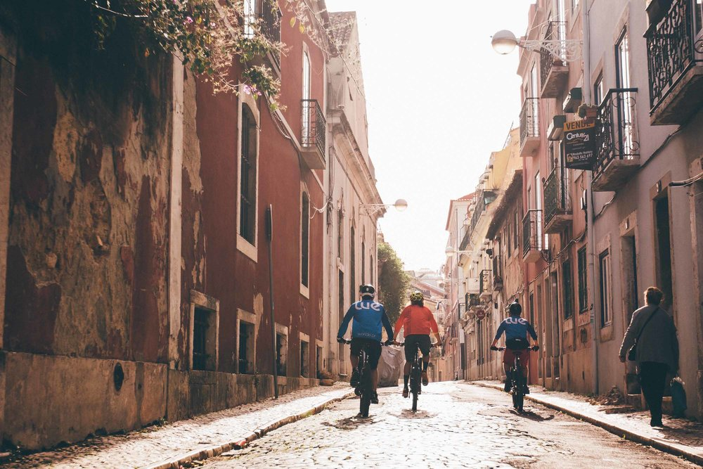 Lisbon's picturesque streets