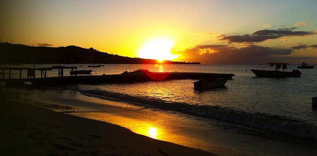 Coconut beach sunset by @cody_bidwell via Flickr