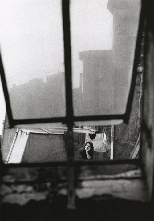 parkerfitzgerald :       Michèle Girardon Paris 1956      Jeanloup Sieff