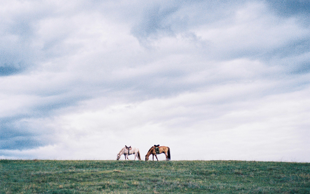 lensblr-network: Land meets sky. Mongolian Steppe. by conquistadordeloinutil.tumblr.com