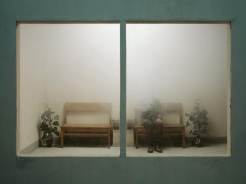 ocn :       Chen Wei       A Foggy Afternoon , 2011     Archival inkjet print, 150x200cm