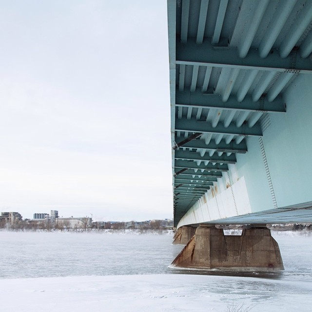 Ice under the bridge