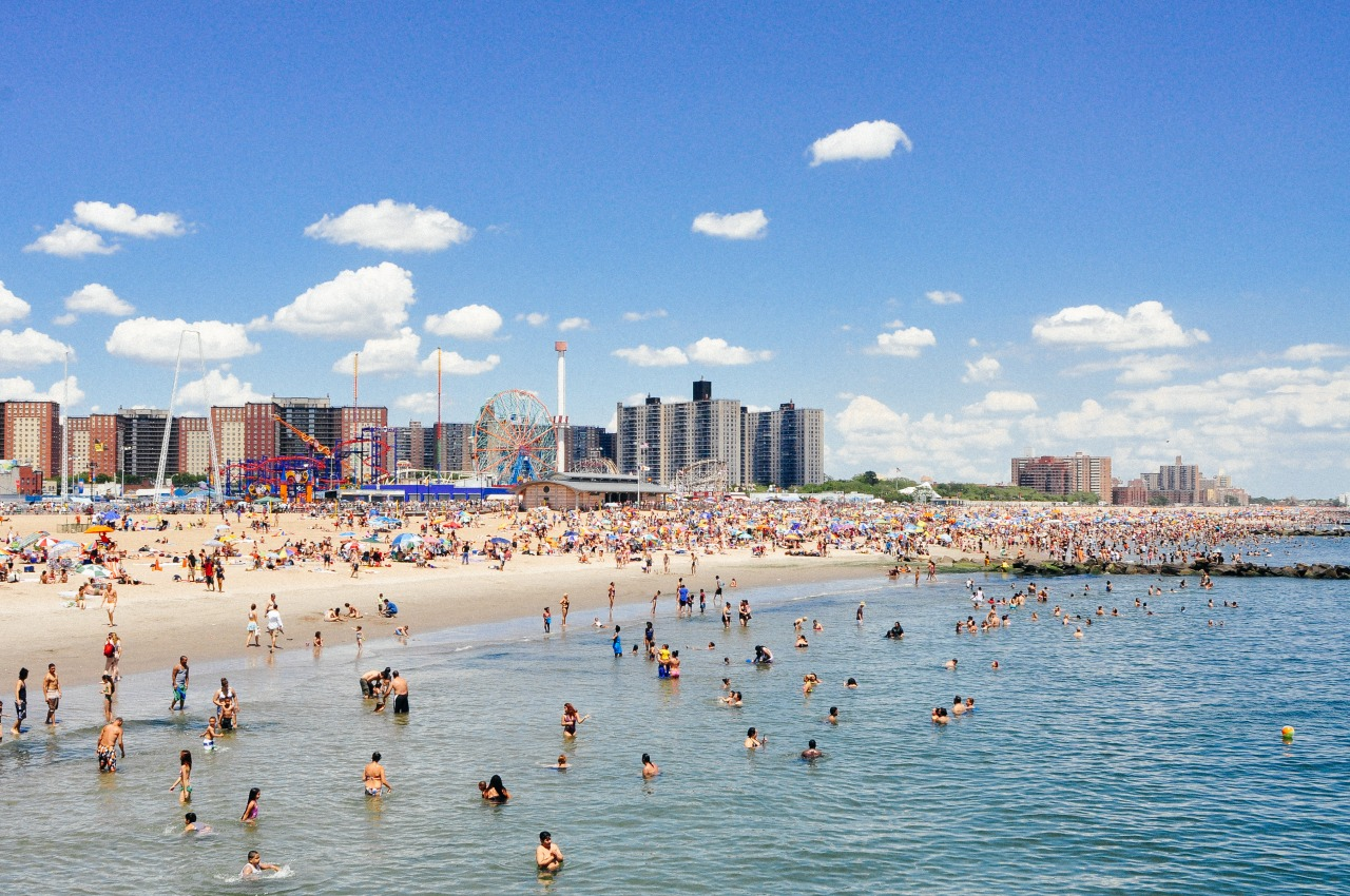 Summer vibes. // Coney Island