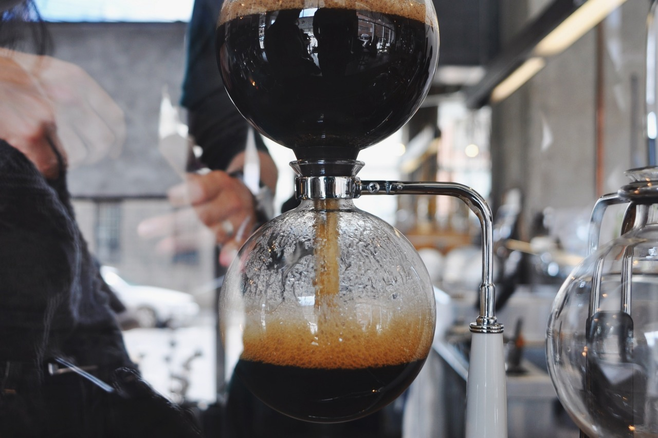 Syphon coffee // take 2 // Montreal