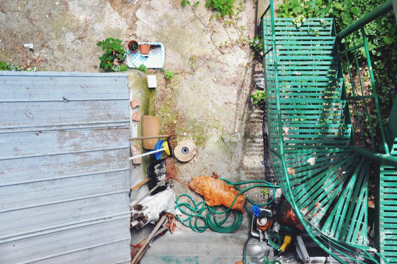 Garden, from top.