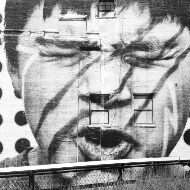 Urban anger // high line park // chelsea // NYC