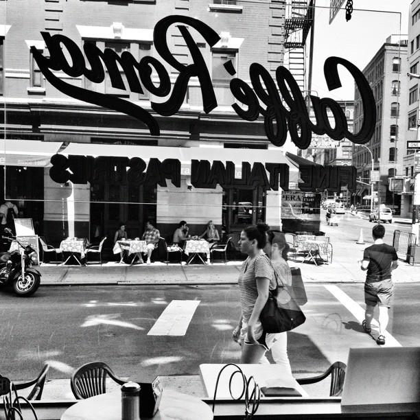 Caffe Roma // soho // NYC   (c) Ali