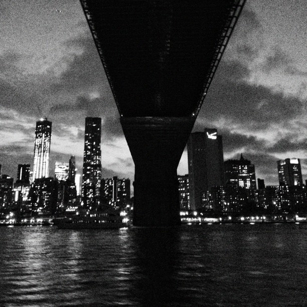 Under the bridge // NYC