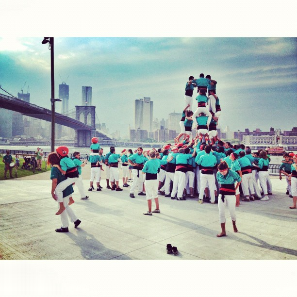 Castellers // NYC   (c) Ali