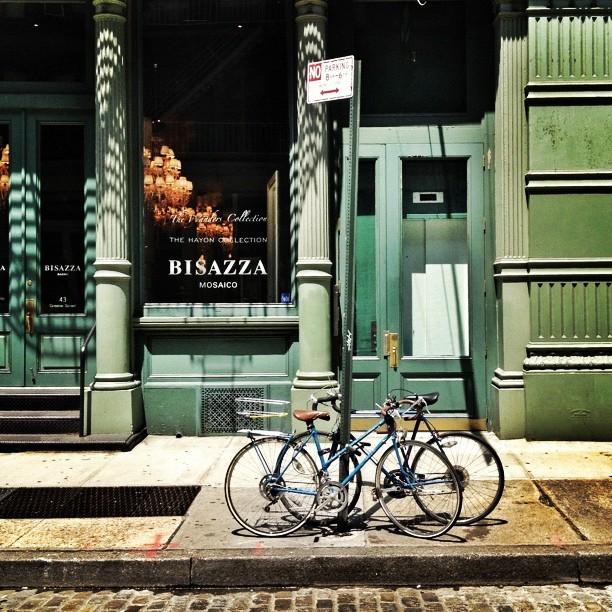 Bikes // soho // NYC (c) Ali