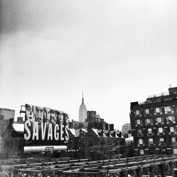 Savages // from high line park // NYC