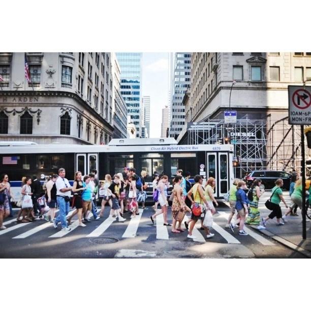 Crowded // NYC   (c) Ali
