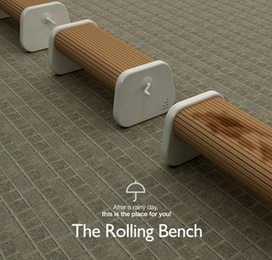 The Rolling Bench  should occupy all parks!