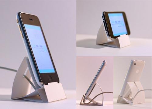 DIY paper iPod dock!