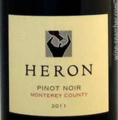 The grapes for this Pinot Noir were grown in different vineyards all in Monterey County.