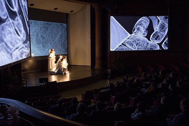 Excited to start sharing some of the documentation from our recent performance: Body Drift, a collaboration with @modulationindex  Credits: 📷: Sean Carroll wats:ON Festival 2017 SHIFT Carnegie Mellon University  #openframeworks #touchdesigner #cmusoa #carnegiemellon #opencv #interactiveart