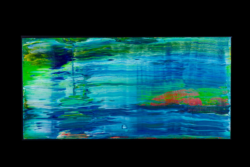 """Summer Water - 12"""" x 24"""" - $300"""
