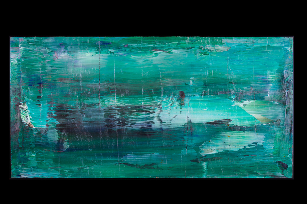 "Morning Water - 18"" x 36"" - $450"